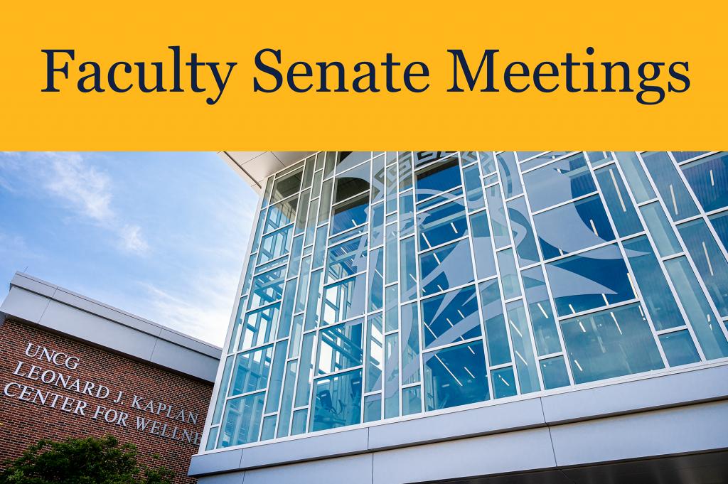 Faculty Senate Meetings